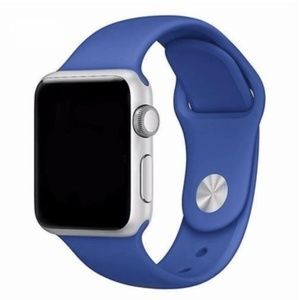 Other - ❤️NEW Blue Sport Silicone Band For Apple Watch